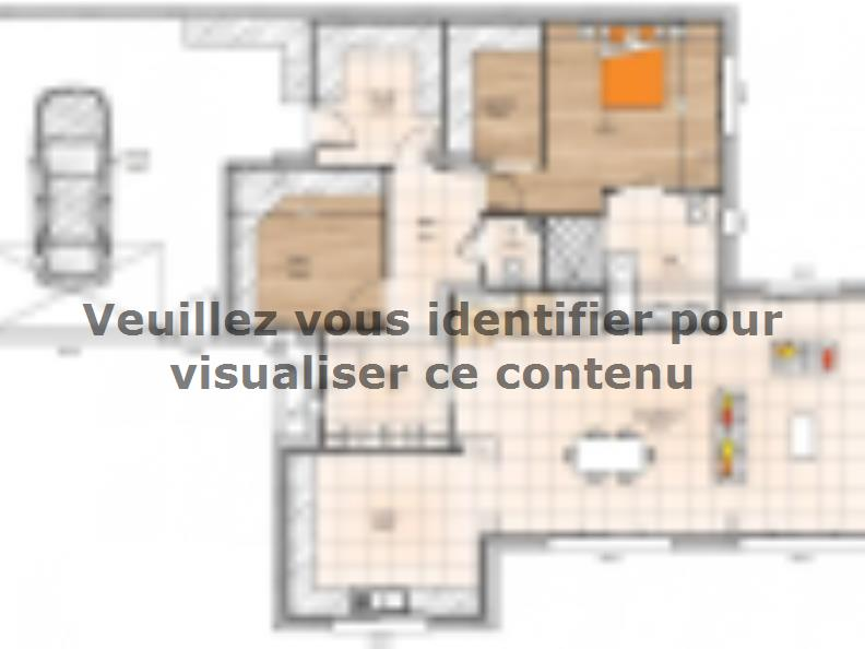 Plan de maison R1MP19196-4GA : Vignette 1
