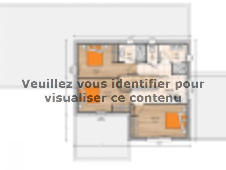 Plan de maison R1MP19196-4GA : Vignette 2