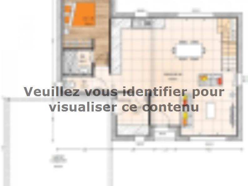 Plan de maison R120107-3 : Vignette 1