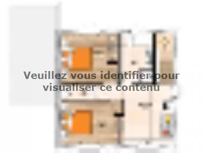 Plan de maison R120107-3 3 chambres  : Photo 2