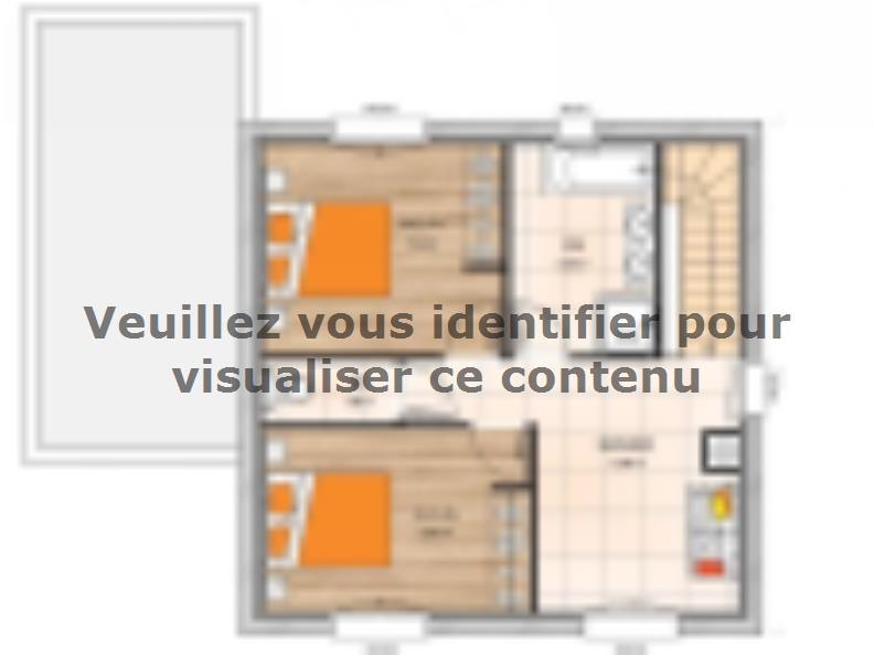Plan de maison R120107-3 : Vignette 2