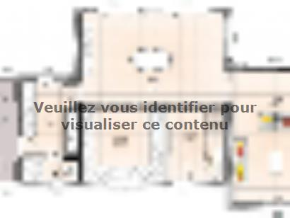 Plan de maison R120122-3 3 chambres  : Photo 1