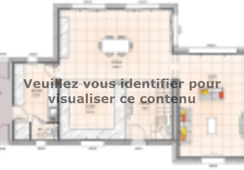 Plan de maison R120122-3 : Vignette 1