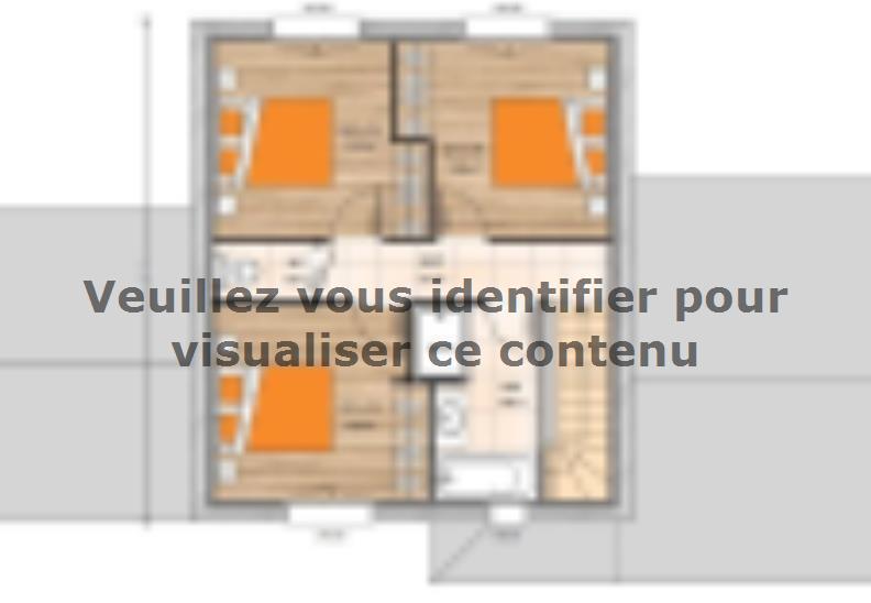 Plan de maison R120122-3 : Vignette 2