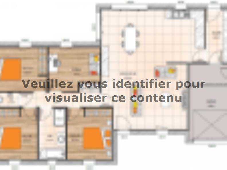 Plan de maison PP20108-4GI : Vignette 1