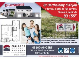 Devenez propriétaire à Saint Barthélémy d'Anjou