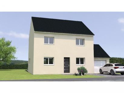 Modèle de maison R119110-3BGA 4 chambres  : Photo 1