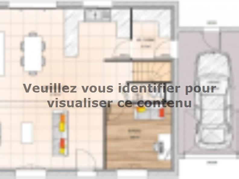 Plan de maison R119110-3BGA : Vignette 1