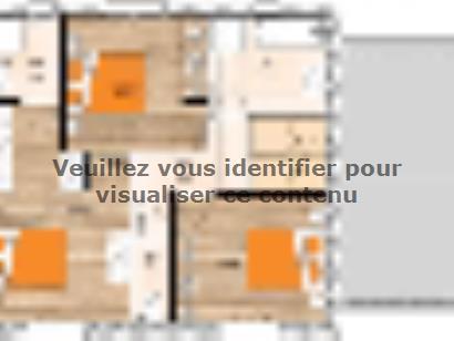 Plan de maison R119110-3BGA 4 chambres  : Photo 2