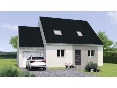 Modèle de maison RCA1995-3GA 3 chambres  : Photo 1