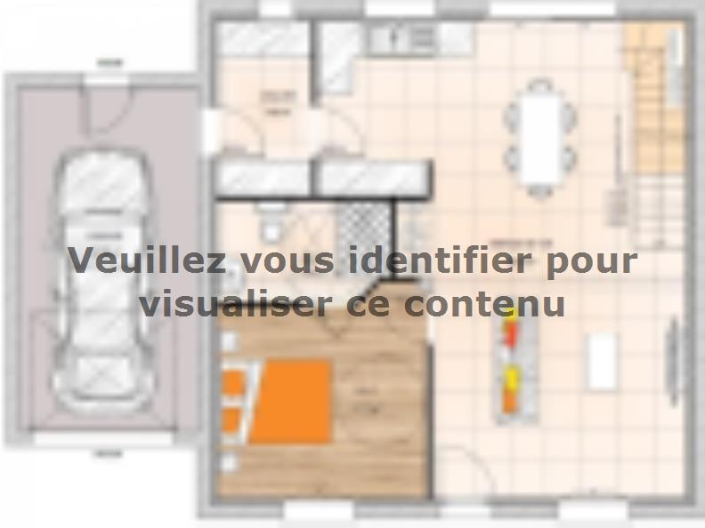Plan de maison RCA1995-3GA : Vignette 1