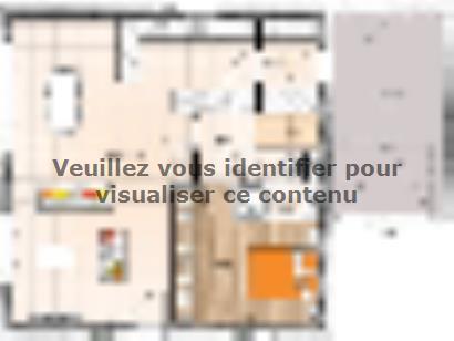 Plan de maison R119130-4MGA 4 chambres  : Photo 1