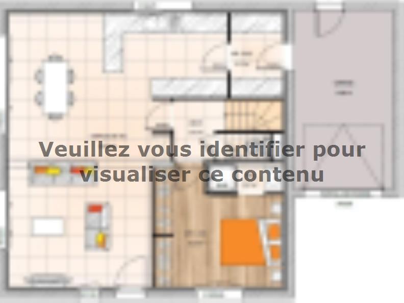 Plan de maison R119130-4MGA : Vignette 1