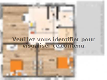 Plan de maison R119130-4MGA 4 chambres  : Photo 2