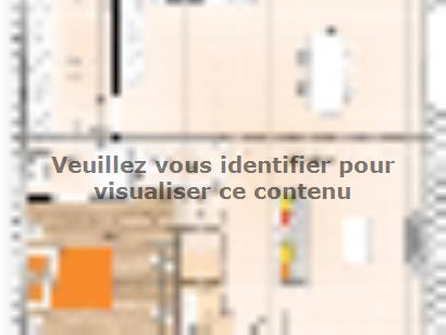 Plan de maison R1MP20130-4M 4 chambres  : Photo 1