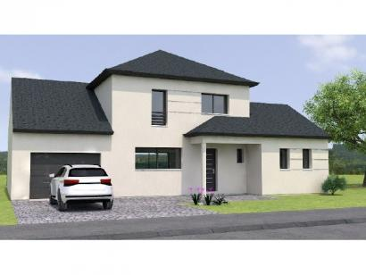 Modèle de maison R119131-4GA 4 chambres  : Photo 1