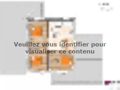 Plan de maison R119131-4GA 4 chambres  : Photo 2
