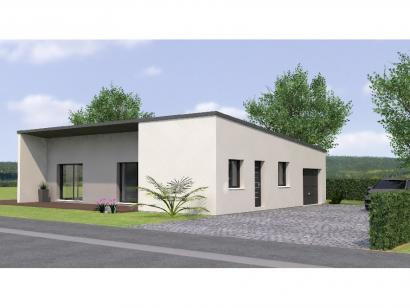 Modèle de maison PPMP20100-3GI 3 chambres  : Photo 1