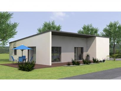Modèle de maison PPMP20100-3GI 3 chambres  : Photo 2