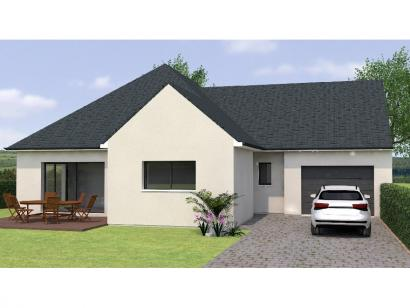 Modèle de maison PPL20106-3GI 3 chambres  : Photo 1