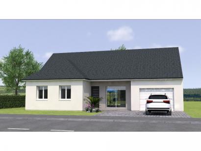 Modèle de maison PPL2099-3BGI 2 chambres  : Photo 1