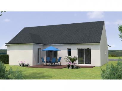 Modèle de maison PPL2099-3BGI 2 chambres  : Photo 2