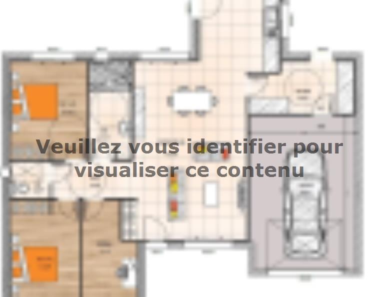 Plan de maison PPL2099-3BGI : Vignette 1