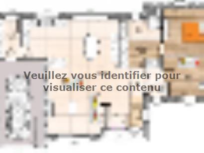 Plan de maison RCA19120-3BGI 3 chambres  : Photo 1