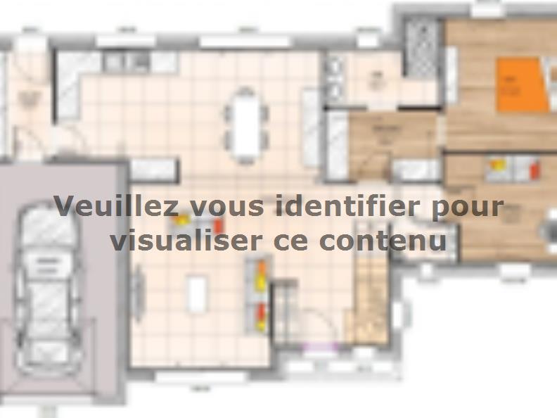 Plan de maison RCA19120-3BGI : Vignette 1