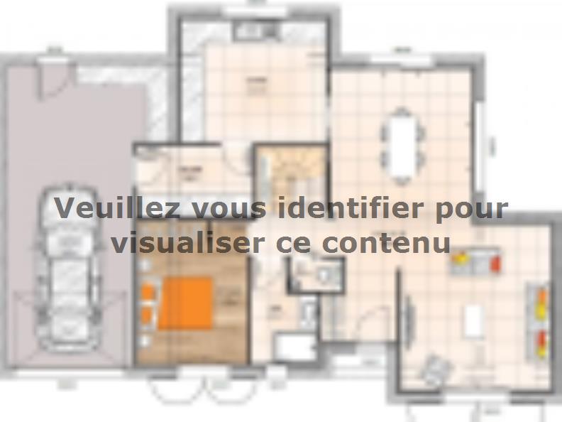 Plan de maison R119134-3GA : Vignette 1