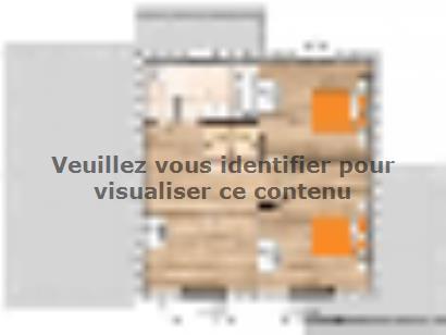Plan de maison R119134-3GA 3 chambres  : Photo 2