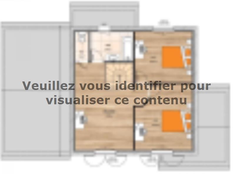 Plan de maison R119134-3GA : Vignette 2