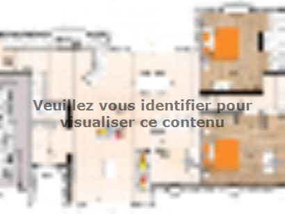 Plan de maison PP19116-3BGI 3 chambres  : Photo 1