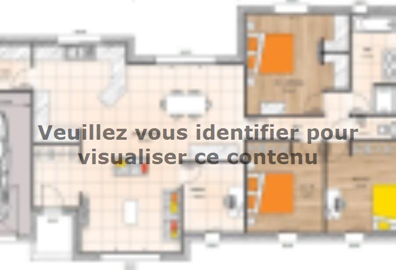 Plan de maison PP19116-3BGI : Vignette 1