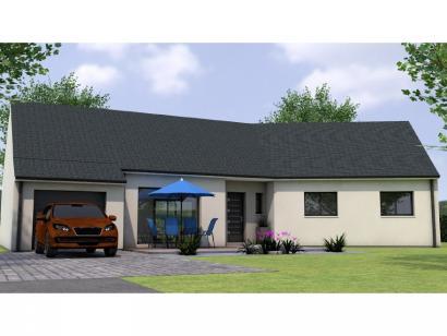 Modèle de maison PP19110-3BGI 3 chambres  : Photo 1