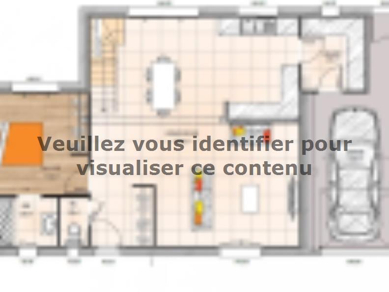 Plan de maison R119120-4GA : Vignette 1