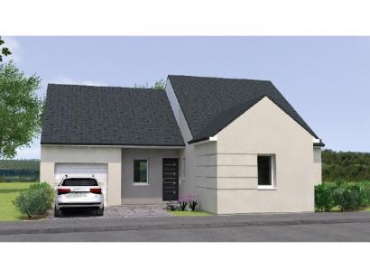 Modèle de maison PP19102-3GI 3 chambres  : Photo 1
