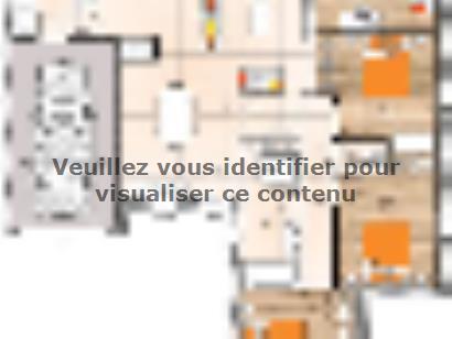 Plan de maison PP19102-3GI 3 chambres  : Photo 1