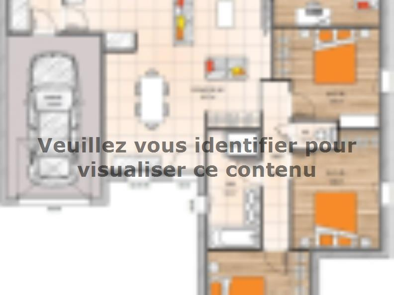 Plan de maison PP19102-3GI : Vignette 1