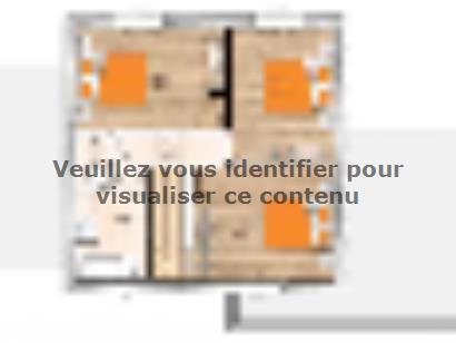 Plan de maison R119117-4 4 chambres  : Photo 2