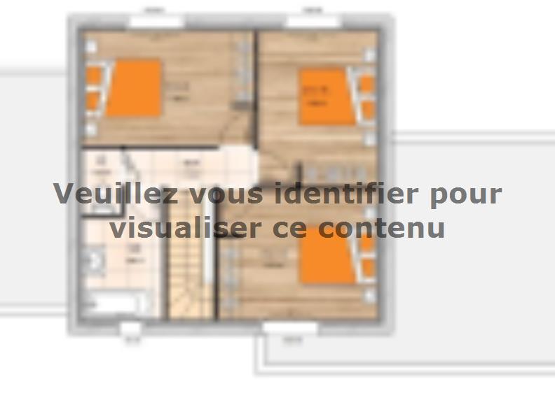 Plan de maison R119117-4 : Vignette 2