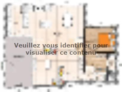 Plan de maison RCA19122-4 4 chambres  : Photo 1