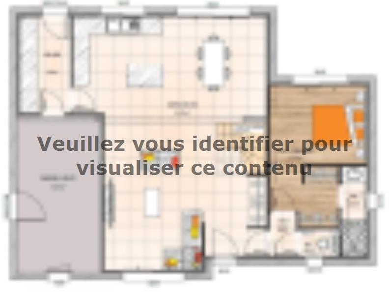 Plan de maison RCA19122-4 : Vignette 1