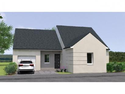 Modèle de maison PP19102-3BGI 3 chambres  : Photo 1