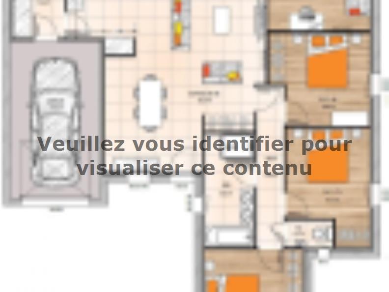 Plan de maison PP19102-3BGI : Vignette 1