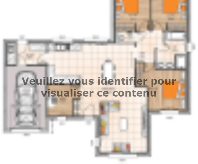 Plan de maison PP191093BGI : Vignette 1