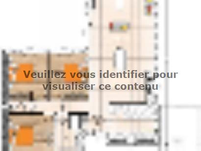 Plan de maison PP19108-3 3 chambres  : Photo 1
