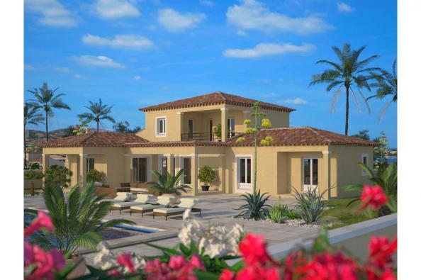 Mod le de maison m diterran e 120 1 tage maisons france confort for Modele de maison a construire