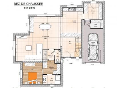 Modèle de maison R119145-4GA 4 chambres  : Photo 3