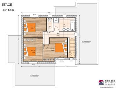 Modèle de maison R119145-4GA 4 chambres  : Photo 4
